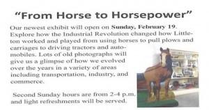 Horse Announce